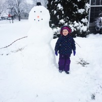 Biggest snowman on the block!!