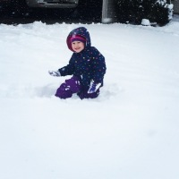 Yeah!!!  Snow!!!