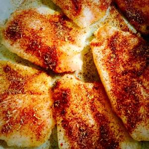 Tilapia with Seasoning